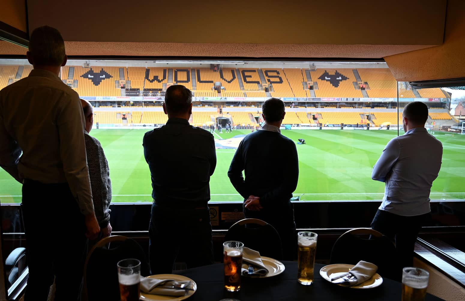 Internal view of Steve Bull Boxes
