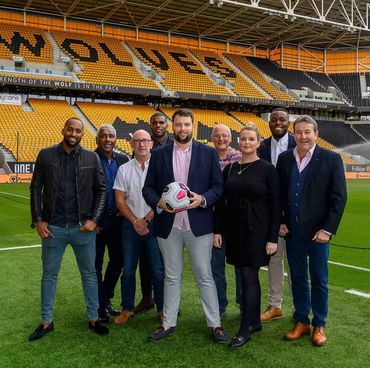 Wolves Associate Sponsor at Molineux