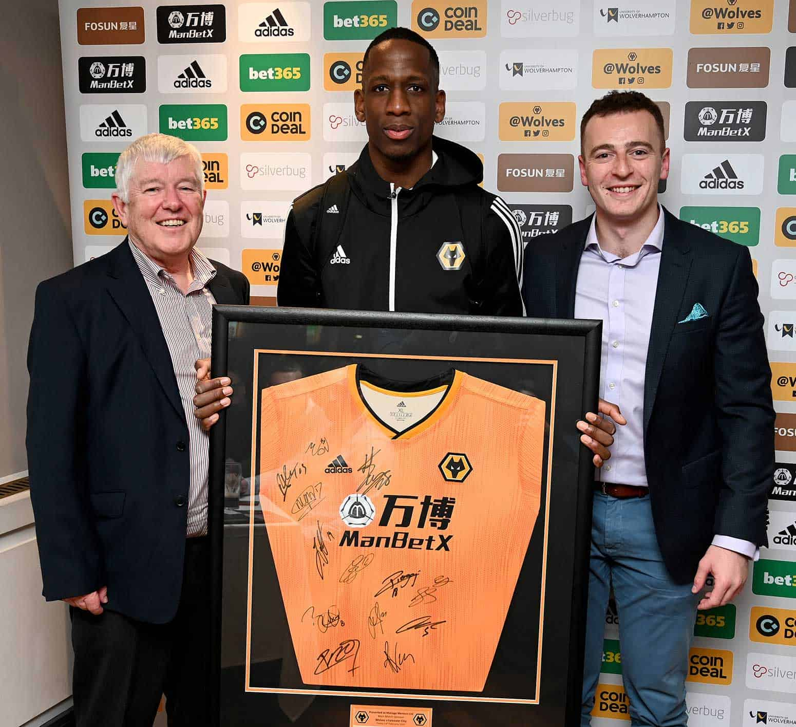 Wolves match sponsor at Molineux