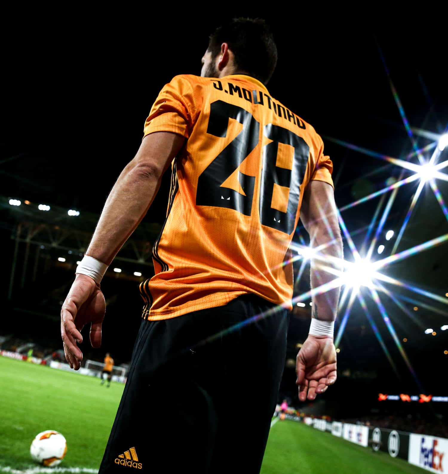Image of Joao Moutinho at Molineux