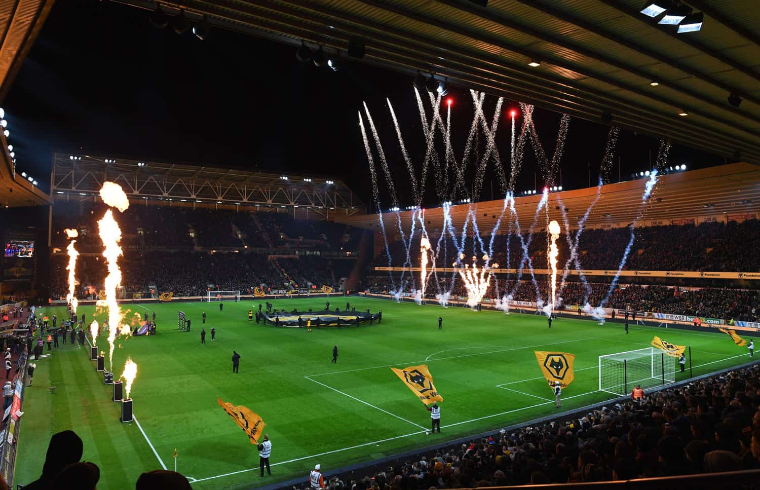 View of Molineux Stadium