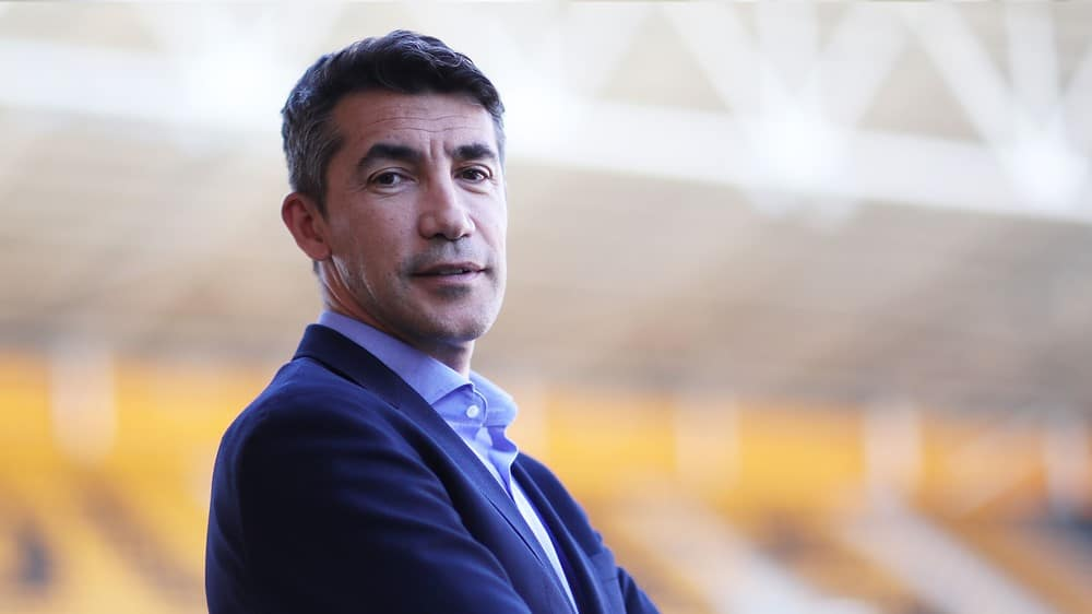 Wolves Head Coach Bruno Lage